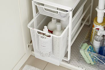 Organize Your Under Bath Sink Cabinet