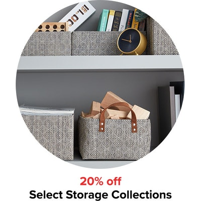 20% Select Storage Collections