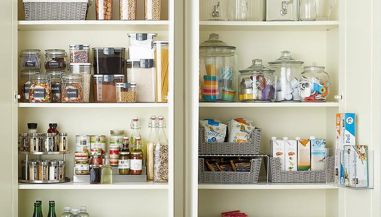 How To Organize Your Kitchen Cabinets | The Container Store
