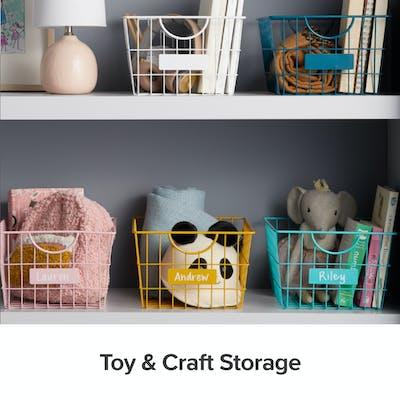 Toy & Craft Storage