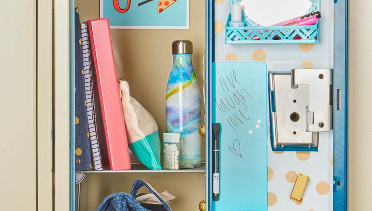 Locker Decoration Organization Ideas How To Organize Your Locker The Container Store