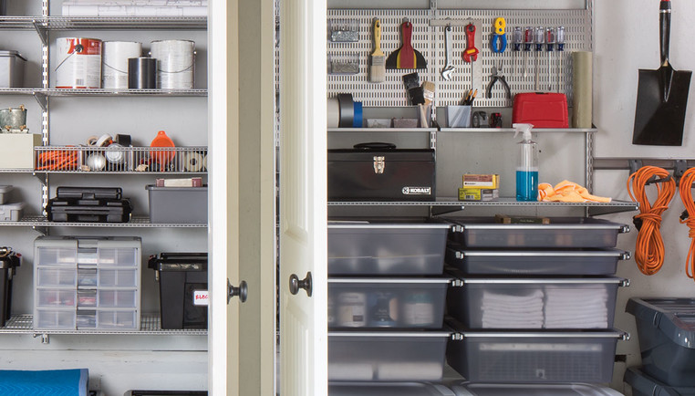 Garage Shelving Made Easy