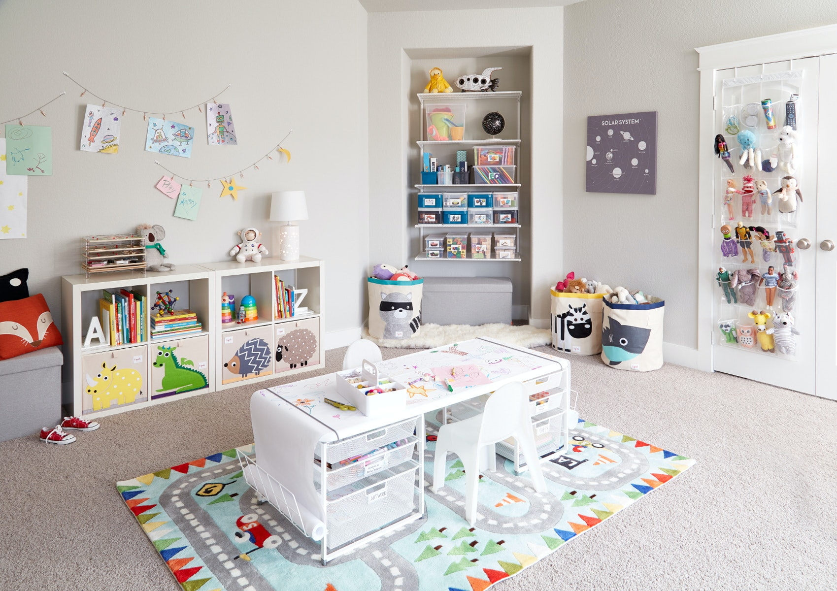 How To Organize Your Playroom The Container Store
