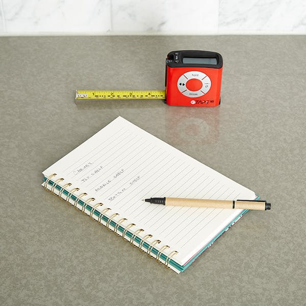 Step 2: Measure & Line Your Cabinets