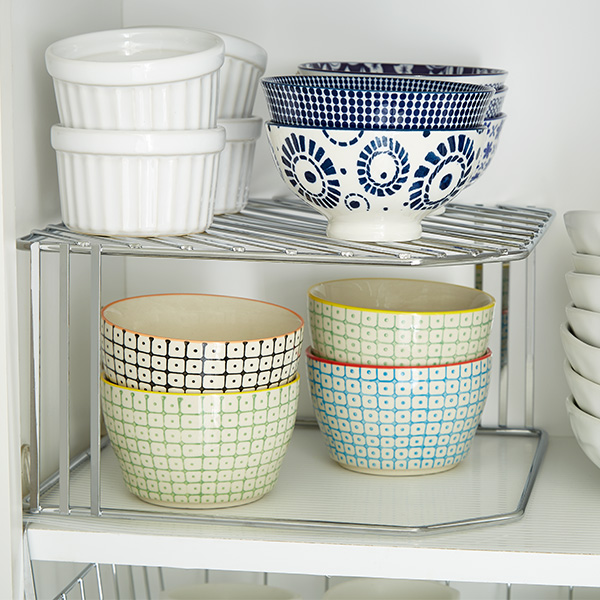 Step 4: Storing Plates & Dinnerware