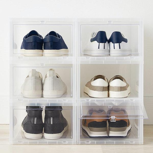 Drop-Front Shoe Boxes