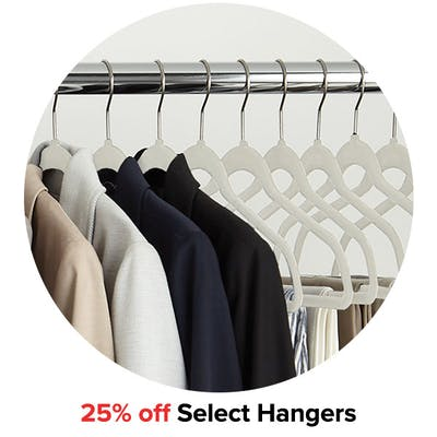 25% off Select Hangers