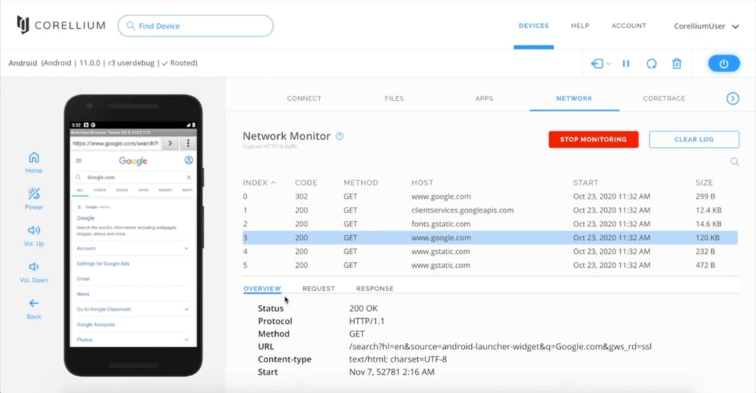 Network Monitor: Easy Traffic Inspection