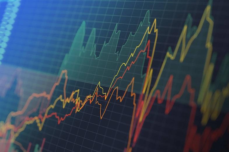 Stock price graph data-driven investing