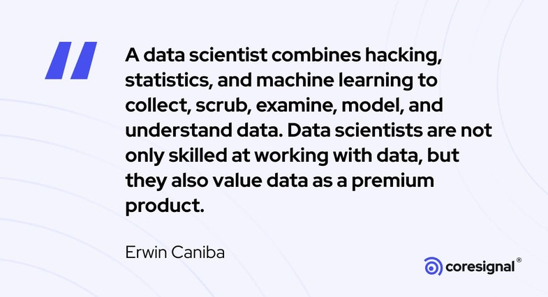 Data Science Quote by Erwin Caniba