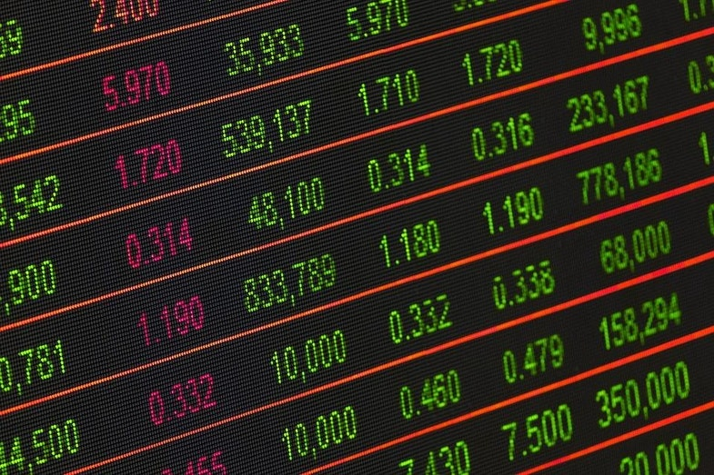 Stock market values