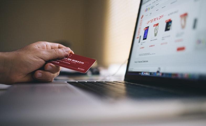 Consumer using credit card creating data