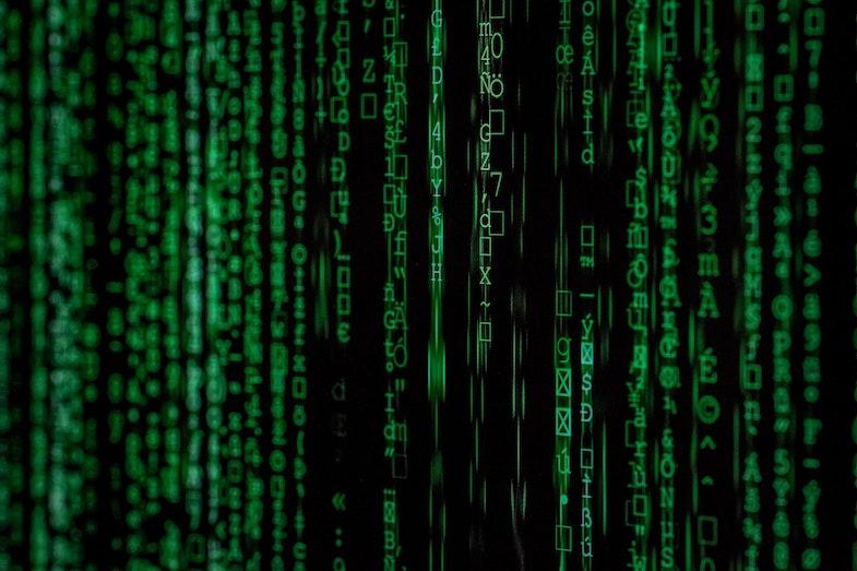 Data shown through programming languages, data transformation