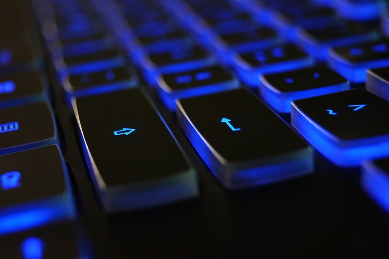 Keyboard with enter return button
