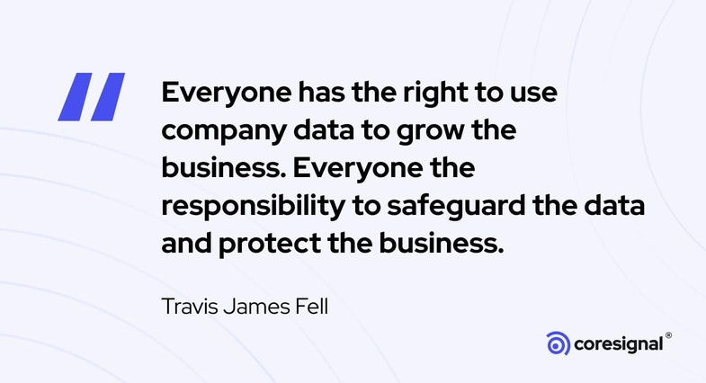 Data Science Quote by Travis James Fell
