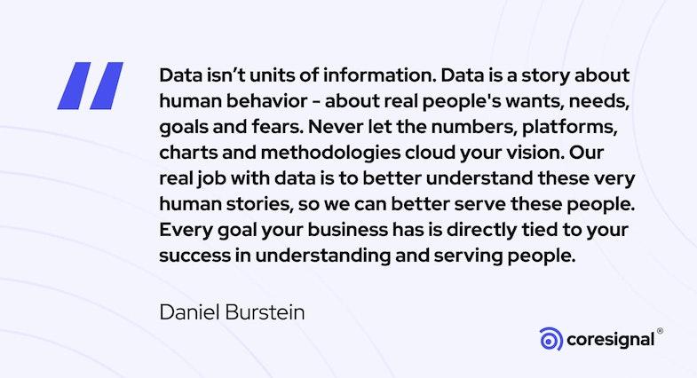 Data Science Quote by Daniel Burstein