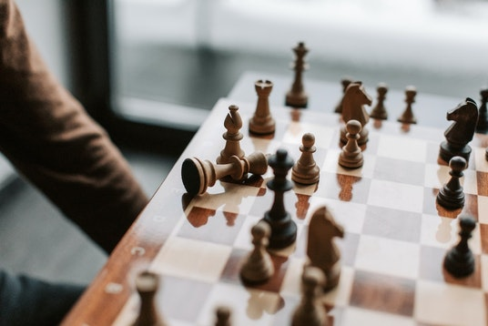 Winning at a game of chess