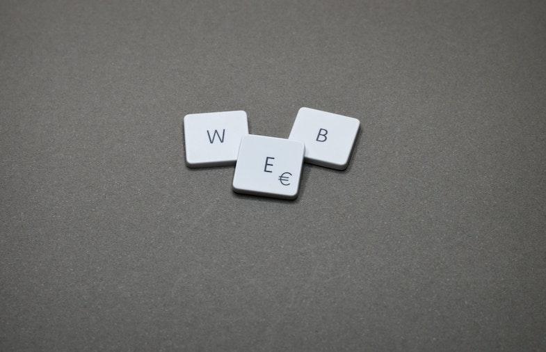 keyboard keys spelling out the word