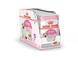 Photo du produit Sachets Kitten en Mousse pour Chaton Royal Canin