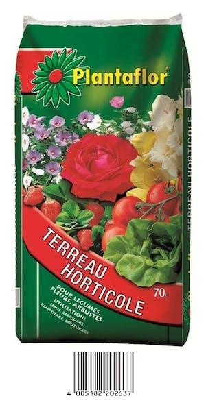 Photo du produit Terreau Horticole Plantaflor 70L
