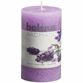 Photo du produit Bolsius Rustique Bougie Parfumée Lavande