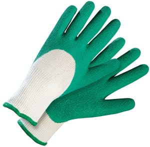 Photo du produit Paire de gants Basic Mix-Grip vert Rostaing