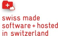 swiss made software and hosted in switzerland logo