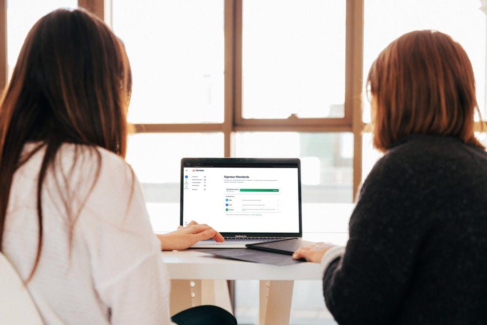 Die HR-Abteilung von Wincasa nutzt auch für Arbeitsverträge die elektronische Signatur (Quelle: Unsplash)