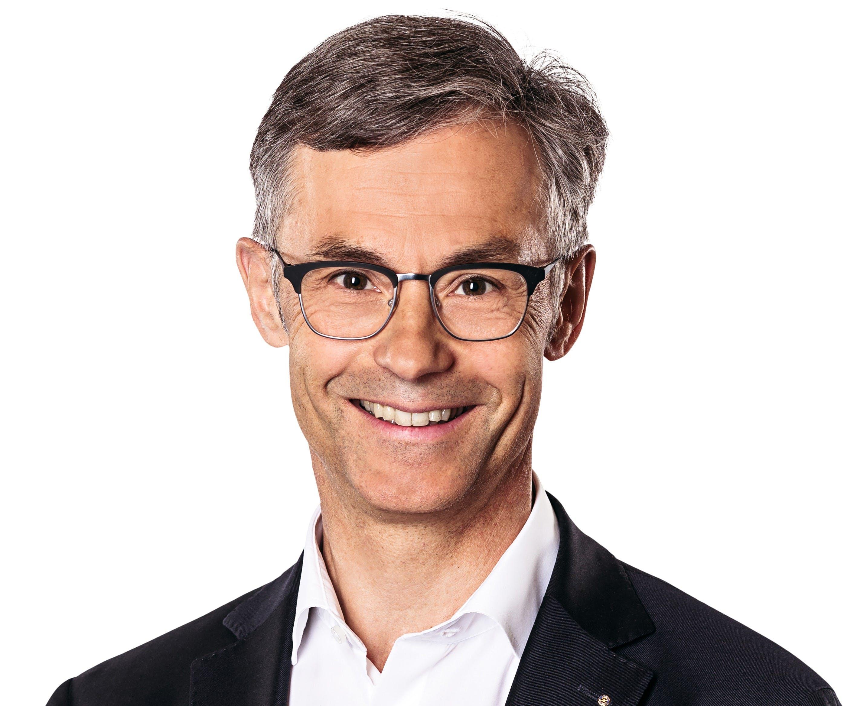 Karl Kobelt, Stadtpräsident Zug (Quelle: Stadt Zug)