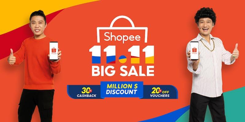 Phua Chu Kang and Lobang 11.11 Shopee sale