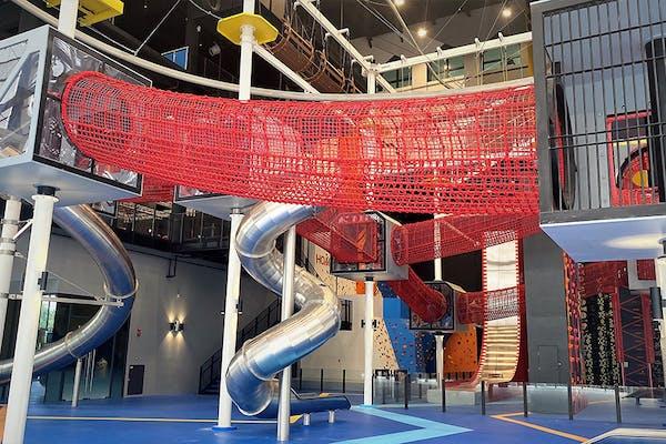 largest indoor adult playground