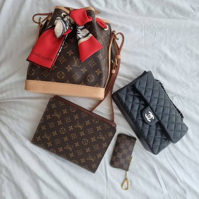 Mun Yee's Chanel and Louis Vuitton bag collection