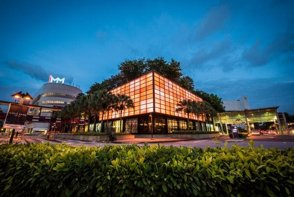 exterior of IMM mall