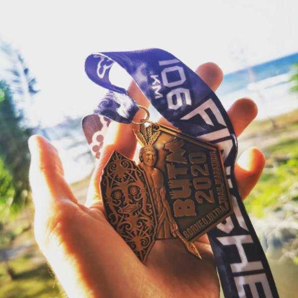 ultramarathon medal