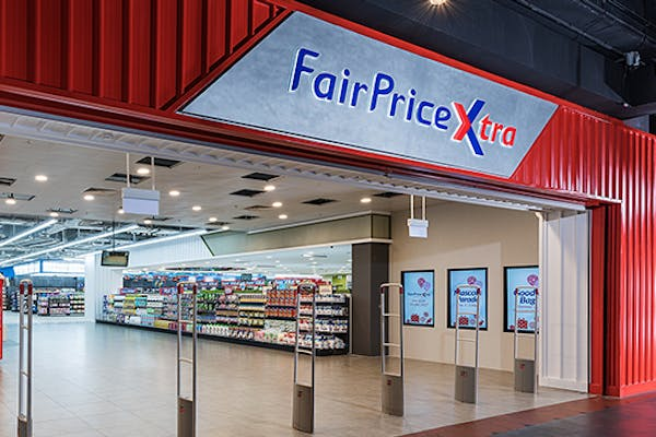 FairPrice Xtra supermarket at Jurong Point