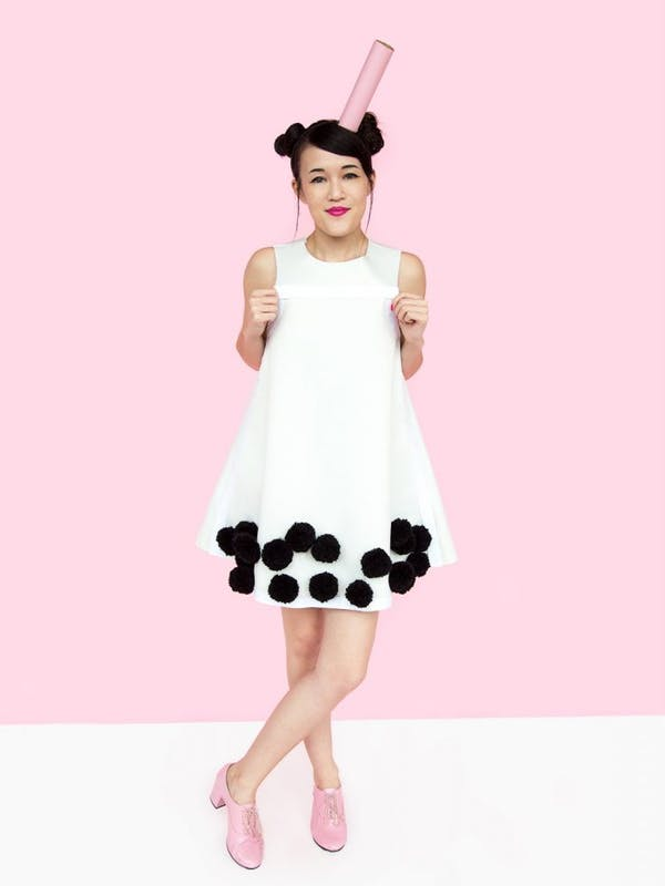 bubble tea costume