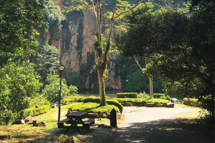 quarry at bukit batok park