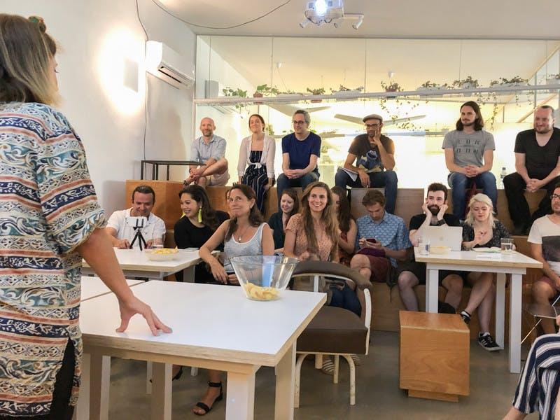 Espaço para workshops e meet ups de nomads – hipótese de disponibilizar gratuitamente se o evento for de entrada gratis em Lisboa