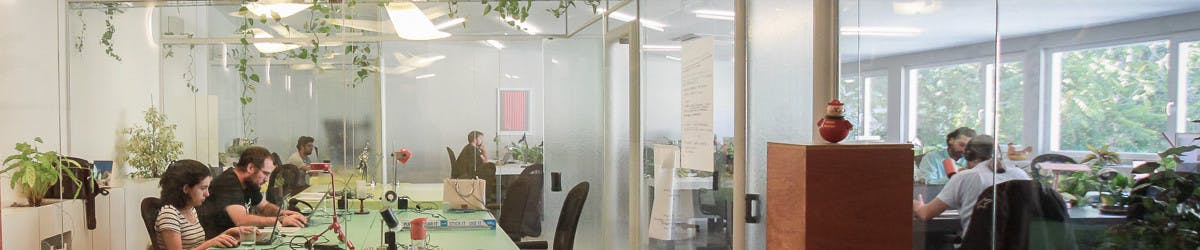 We have options for coworking desks from a one day hotdesk or roaming pass to a flexible week, or part-time and full-time monthly passes. And fixed desks for our regular members who come every day or need things like 24/7 access
