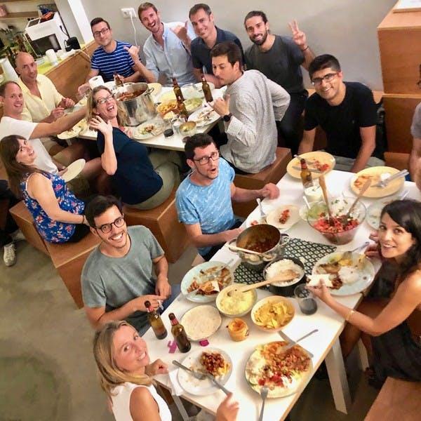 O nosso último jantar mexicano no Cowork Central Príncipe Real foi o máximo.