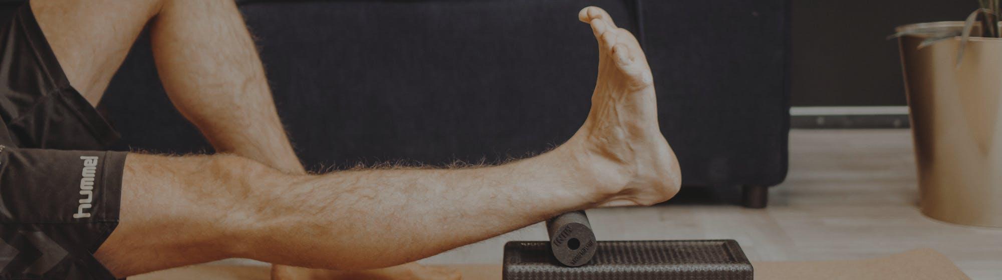 Waden- und Achillessehnenübung