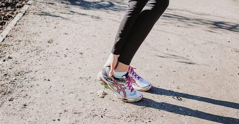Einlagen Schmerzen beim Laufen