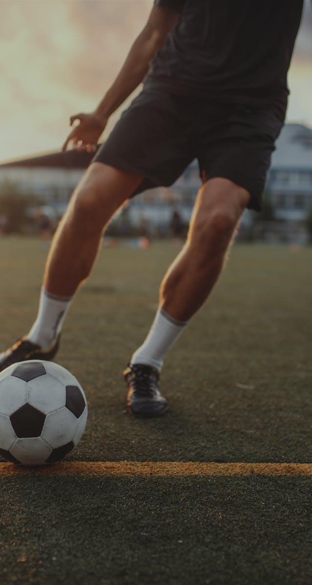 Schmerzfrei Fußball spielen