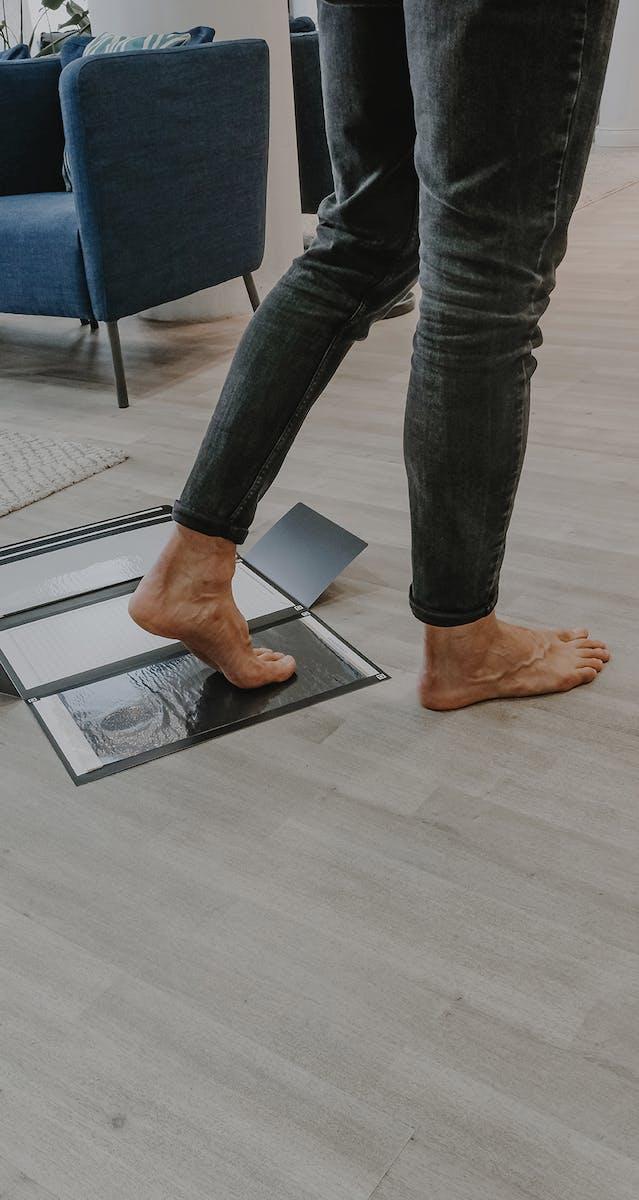 Fußstellungen ausgleichen