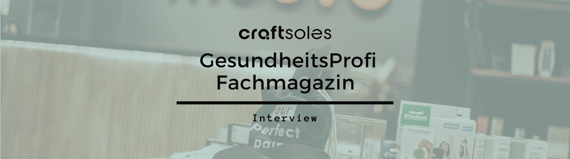 GesundheitsProfi Fachmagazin Interview