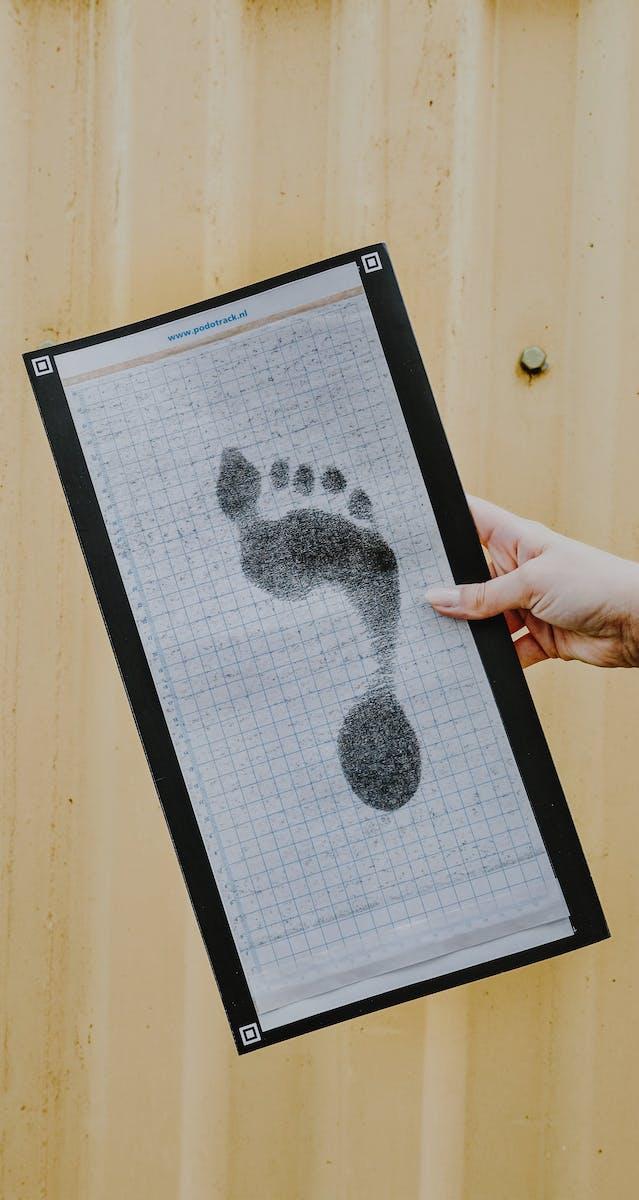 craftsoles dynamisches Abdruckset zum Vermessen Deiner Füße