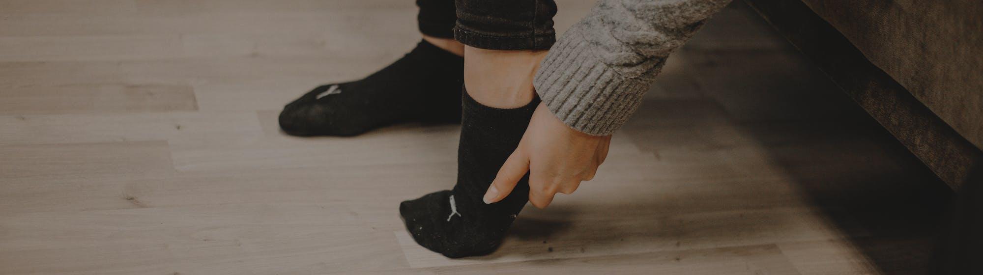 Fußschmerzen Knick-Senkfuß