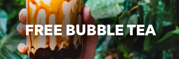 Free Bubble Tea