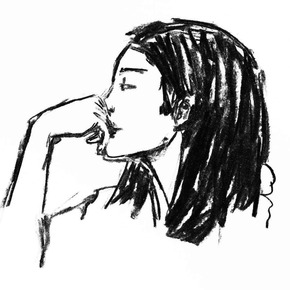 Ilustração de Agnes Pinhanelli para Creative Doc.