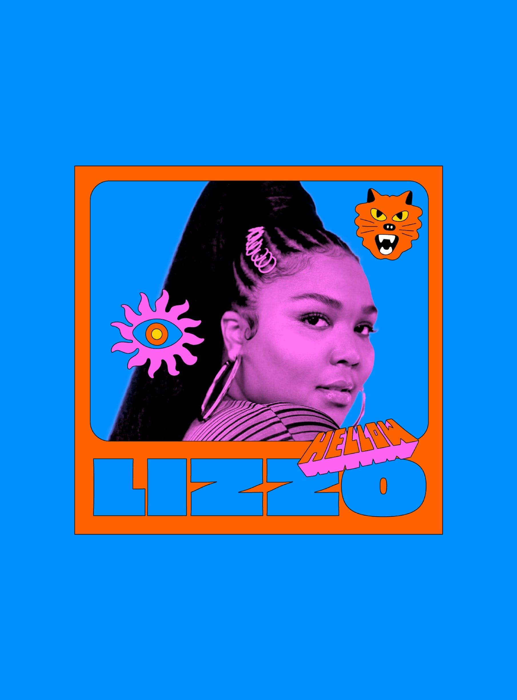 Imagens com figura para promoção de Hellow Festival.